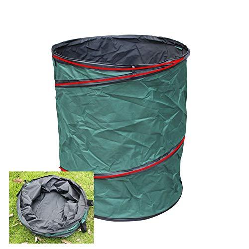 LJIANW GardenMate, Impermeable Tarea Pesada Paño De Oxford Grande Rechazar Sacos con Asas Plegable Y Reutilizable For Residuos Malas Hierbas Almacenamiento De Jardinería