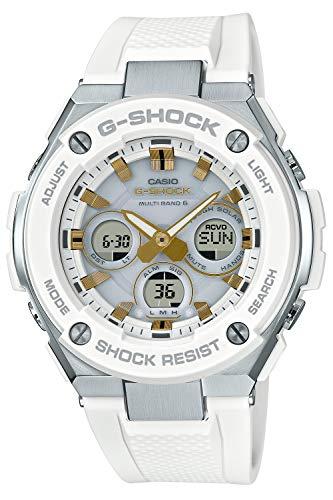 [カシオ] 腕時計 ジーショック G-STEEL 電波ソーラー GST-W300-7AJF メンズ ホワイト