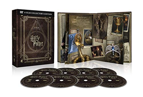 Harry Potter Magical Collection (8 DVD) - Cofanetto con Copertina in Similpelle, Edizione Digibook (32 pagine)