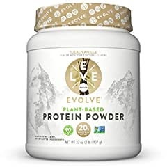 VEGETABLE-BASED AND PLANT POWERED PROTEIN – EVOLVE Protein Powder is a real plant powered protein source that provides 20g of protein for sustained energy to help support your active lifestyle GOOD. SIMPLE. PROTEIN. – EVOLVE Protein Powders are free ...