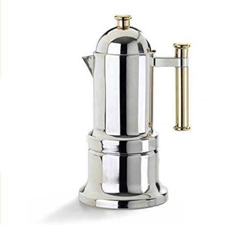 Vev Vigano 8010 Kontessa Oro 12-cup Coffee Pot by Vev Vigano