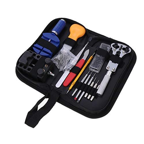 146 STÜCKE Uhrenreparatur Werkzeugsatz Uhrenarmband Werkzeugsatz Für Juweliere Und Uhrmacher Professioneller Uhrenwerkzeugsatz