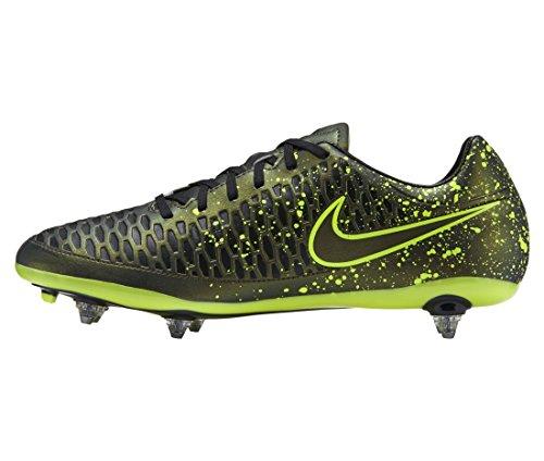 Nike Unisex-Erwachsene Magista ONDA SG r39 Fußballschuhe, Gelb/Schwarz/Grün (Dark Citron/Drk Citron-blk-VLT), 39 EU
