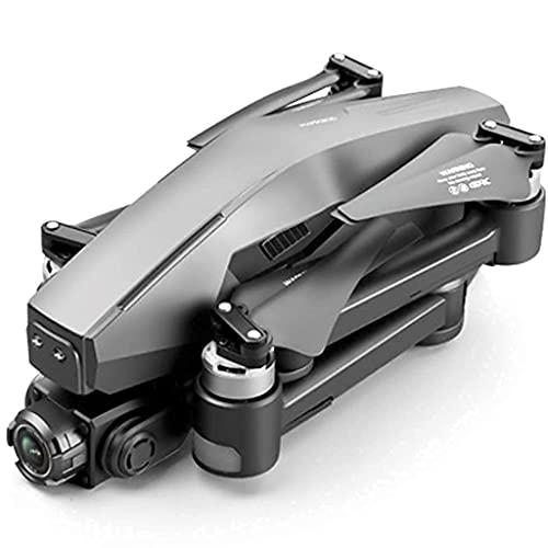 Drone GPS pieghevole con telecamera di trasmissione 4K FHD 5G Video in diretta per adulti Quadricottero con motore brushless, ritorno automatico a casa, seguimi, gimbal antivibrazione a 2 assi, una b