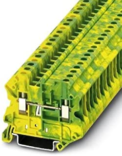 DIN Rail Terminal Blocks UT 4-MTD-PE KNIFE DISCON TERM BK (1 piece)