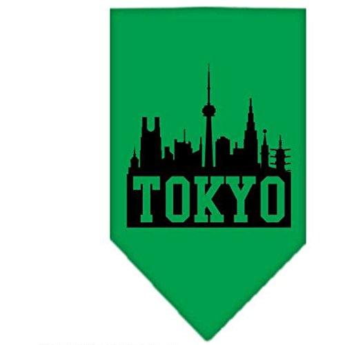Mirage Tokyo Skyline écran Imprimé Bandana pour Chien