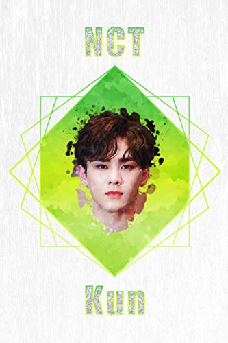 NCT Kun: Acrylic Paint Portrait Watercolor Polygon Splash 100 Page 6