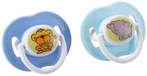 Philips Avent SCF125/12 - Beruhigungssauger Verschiedene Designs 3-6 Monate, Farbe nicht frei wählbar