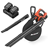 Best cordless leaf blower vacuum - MAXLANDER 2 in 1 Cordless Leaf Blower Review