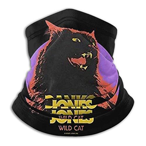 WlQshop Tour de Cou Warmer Windproof Mask Fleece Headwear Danko-Jones-Wild-Cat for Winter Men Women Walking Skiing Motorcycling