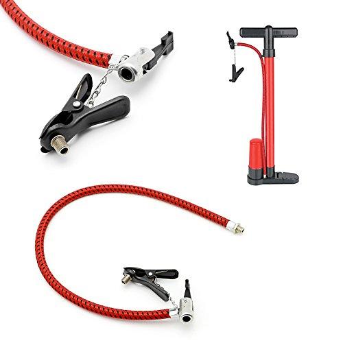 gszfsm001 Fahrrad Reifen Reifen Hand Luftpumpe Pumpe Ersatz Schlauch Schlauch Gummi Werkzeug