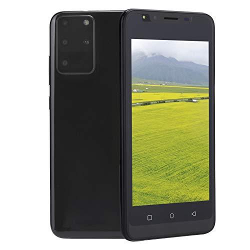 Smartphone Offerta del Giorno, 3G Android Cellulari Economici in Offerta Dual SIM Smartphone Sbloccato, Schermo da 5.0 , 512MB + 4GB, Face ID, GPS, WIFI [Classe di efficienza energetica A+++](Black)