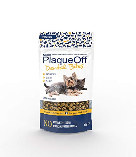 Plaque Off 22235/3357 ProDen PlaqueOff Dental Bites (Size: Small Cats & Dogs)