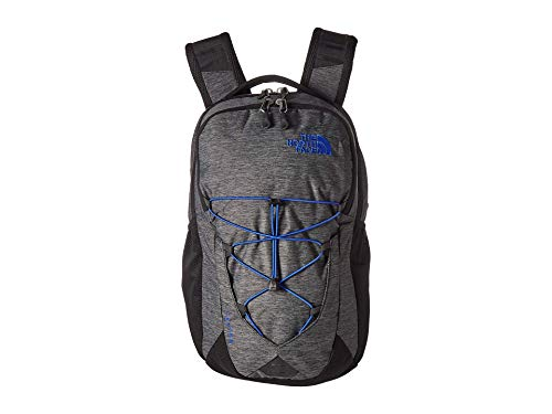 The North Face Jester Backpack, TNF Black Heather/TNF Blue, One Size