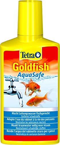 Tetra Goldfish AquaSafe 250 ml - Agua del grifo segura para los peces