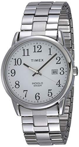 Timex Homme Analogique Quartz Montre avec Bracelet en Acier Inoxydable TW2R58400