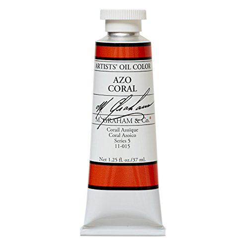 M. Graham & Co. Oil Paint, AZO Coral