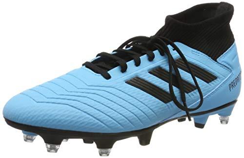 adidas Predator 19.3 SG, Scarpe da Calcio Uomo, Multicolore (Bright Cyan/Core Black/Solar Yellow Ef8033), 42 EU