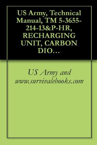 US Army, Technical Manual, TM 5-3655-214-13&P-HR, RECHARGING UNIT, CARBON DIOXIDE RECIPROCATING PUMP