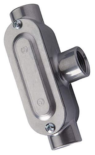 Halex, 3/4 in. Rigid Type-T Threaded Conduit Body , 58807, 1 per pack