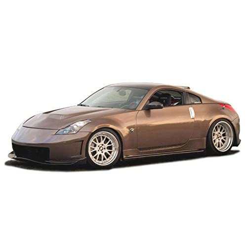 Nissan 350Z 2003-2008 N3-R Style 1 Piece Polyurethane Front Bumper manufactured by