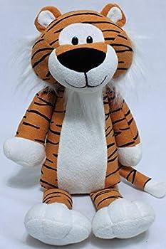 Path13 Plush Tiger Striped Stuffed Animal Toy 18  Tall