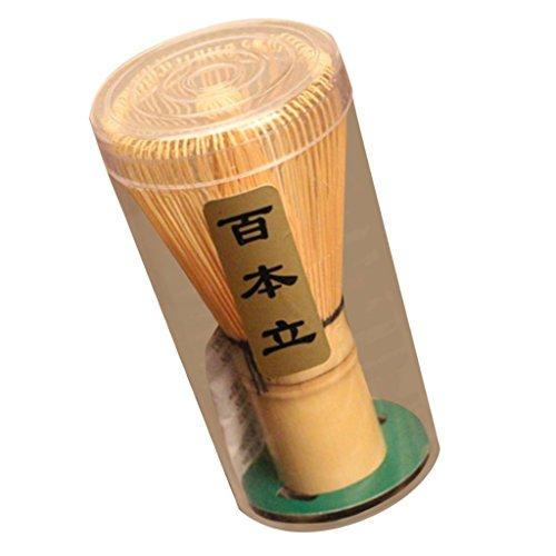 Home Prongs natürliche und sichere Bambus Chasen Matcha Grüntee Powder Whisk Too