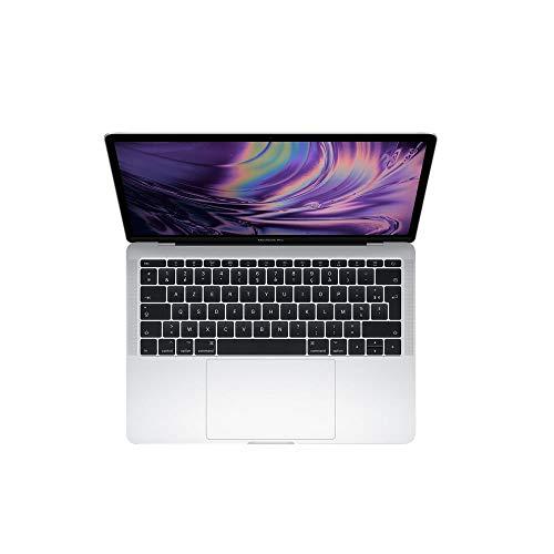 Apple MacBook Pro 13 Inc. 2017 - 2.3GHz i5 - 8GB RAM - 128GB SSD - (MPXR2LL/A - 2017) - QWERTY - Plateado (Reacondicionado)