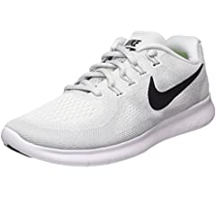 Nike Wmns Free RN 2017, Zapatillas de Running para Mujer, Multicolor (White/Black/Pure Platinum 101), 35.5 EU: Amazon.es: Zapatos y complementos