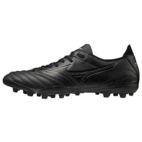 Mizuno Morelia Neo III Pro AG, Bota de fútbol, Black-Black, Talla 12 US (46 EU)