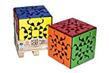 Project Genius Gear Cube XXL by Mefferts- Novelty Gifts, Twisty Puzzle, Brain Teasers, Oversized Speed Cube, Assorted (MK0000)