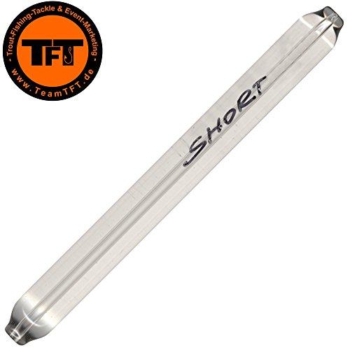 TFT Short Glas Glasgewichte - Glasgewicht zum Forellenangeln, Gewicht zum Angeln auf Forellen, Glasbeschwerung für Forellen, Gewicht:6g