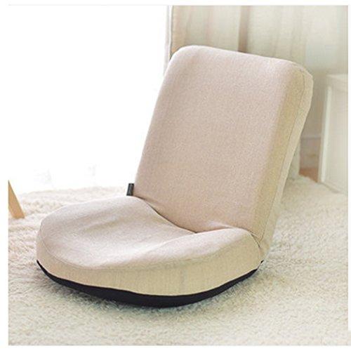 Oreiller Fu Man Li Trading Company Canapé Paresseux, Paresseux, Ordinateur, Pliante, chaises Longues, Balcon, fenêtre, lit, Chaise A+ (Couleur : Beige)