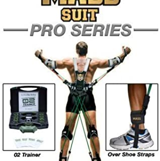MASS SUIT Pro Series by Juke Performance - Resistance band workout suit for athletes - Full Body Workout Includes Arms, Back, Legs, and Chest - Enhance Performance Including Speed, Strength, and Power