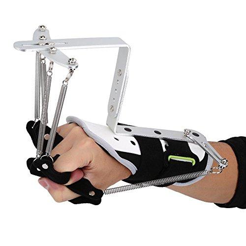 Ortesis de rehabilitación de dedos, entrenamiento de rehabilitación de manos, equipo de entrenamiento de rehabilitación de muñeca ortopédica para dedos para ejercicio de tendones