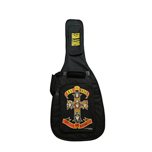 Perri\'s Leather BGGNR1 Guns N Roses Bass-Gitarren Gigbag 4/4 Grösse