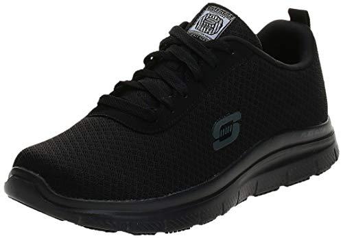 Skechers for Work Men's Flex Advantage Bendon Work Shoe,Black,7 M US