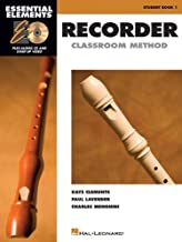 Essential Elements for Recorder Classroom Method - Student Book 1: Book with CD-ROM