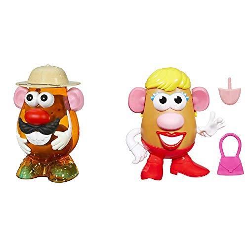 Potato Head Safari Theme (Hasbro 20335786) + Hasbro - Mrs mph (Hasbro, 27658EZ3)