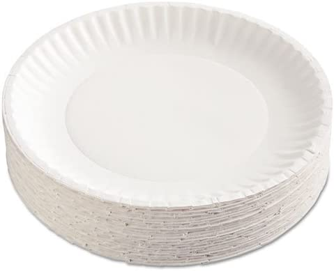 FinishingTouch Paper Plates44; White 9 in. - El Our shop OFFers the best service Paso Mall