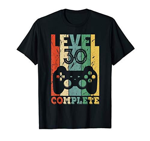 Herren 30. Geburtstag Mann 30 Jahre 1990 Party Männer Geschenk T-Shirt