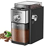 Conical Burr Coffee Grinder, CHEFFANO Electric Coffee Bean Grinder with 8.8oz Large Bean Hopper, 17...