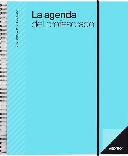 Additio P212 Agenda del profesorado Agenda + Evaluación + Anotaciones Azul