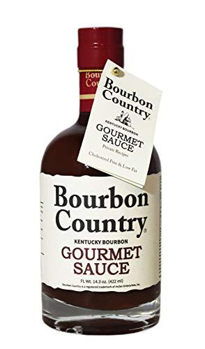 BOURBON COUNTRY GOURMET SAUCE   Marinade, Stir, Fry & Cook   Nappe Consistency   Fish & Steak Sauce   14.3 Oz.