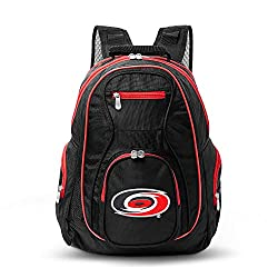 NHL Carolina Hurricanes Colored Trim Premium Laptop Backpack