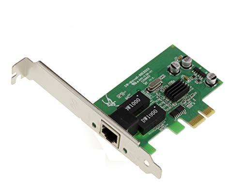 Kalea Informatique Netzwerkkarte PCIe Gigabit Ethernet–Chipsatz Marvell 88E805x–Funktion PXE/Boot Network Card (Boot Netzwerk)–mit equerres Low und High Profile–Windows/Mac OS