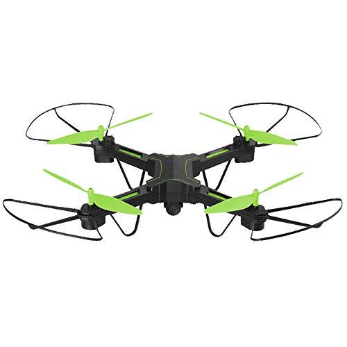 FPV Quadrocopter, Mit 720P HD Videokamera, WiFi 3D VR Live übertragung,Outdoor Mini Drohne Mit Kamera, App Steuern, Gravitationssensor, Kopflos-Modus, Helikopter Geeignet für Anfänger und Profis,Green