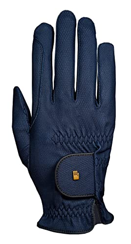 Roeckl Roeck Grip Handschuh, Unisex, Reithandschuh, Marine, Größe 8,5