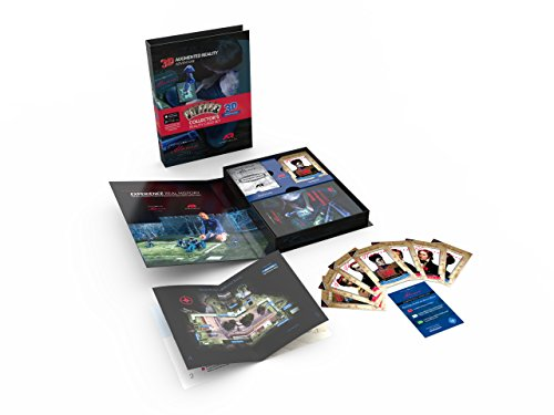 Experience Real History Learning Cards, Alamo Card Set with 3D Augmented Reality, Educational and Fun