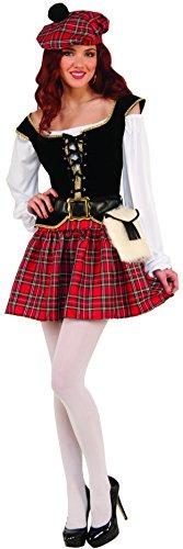 Women's Saucy Scotty Girl Costume